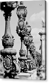 Ornate Paris Street Lamp Acrylic Print