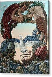 Ornithological Symphony By Ludwig Van Beethove Acrylic Print