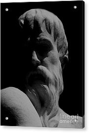 Orpheus Looks Back Acrylic Print by RC DeWinter