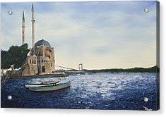 Ortakoy Mosque Acrylic Print