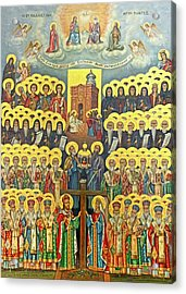 Orthodox Holy Saints 1882 Acrylic Print