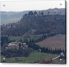 Acrylic Print featuring the photograph Orveito Italy by Marna Edwards Flavell