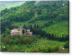 Orvieto Castle Acrylic Print