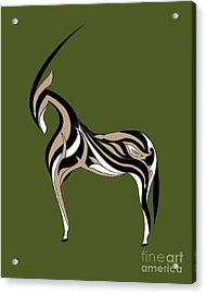 Oryx Acrylic Print