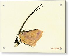 Oryx Acrylic Print by Juan  Bosco
