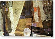 Os1959ar013ba Abstract Landscape Of Potosi Bolivia 15.6 X 26.6 Acrylic Print by Alfredo Da Silva