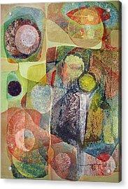 Os1961dc002bo Abstract Landscape Potosi 17x22.25 Acrylic Print by Alfredo Da Silva