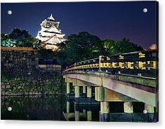 Osaka Castle Acrylic Print