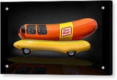 Oscar Mayer Wiener Mobile Acrylic Print