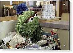 Oscar The Grouch Acrylic Print
