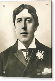 Oscar Wilde Acrylic Print by Granger