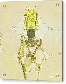 Osiris, God Of Egypt By Mb Acrylic Print