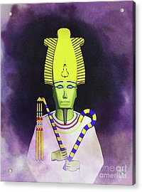 Osiris - God Of Egypt Acrylic Print