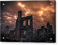 Acrylic Print featuring the photograph Osler Castle by Michaela Preston