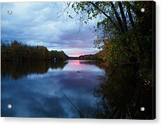 Oswego River Acrylic Print by Everet Regal