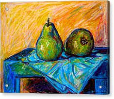 Other Pears Acrylic Print by Kendall Kessler