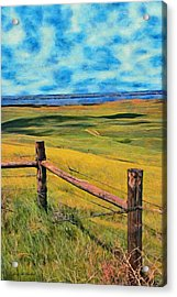 Other Side Of The Fence Acrylic Print by Jeff Kolker