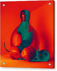 Otherworldly Habaneros Acrylic Print