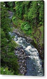 Ottauquechee River  Acrylic Print