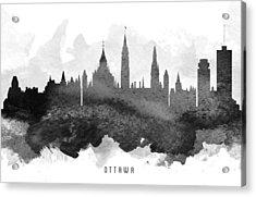Ottawa Cityscape 11 Acrylic Print