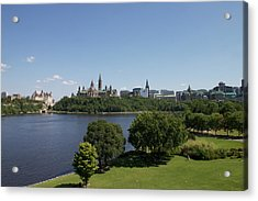 Acrylic Print featuring the photograph Ottawa by Josef Pittner