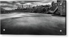 Ottawa Spring Flood Acrylic Print