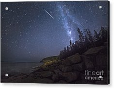 Otter Cove Meteor Acrylic Print