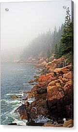 Otter Point Fog Acrylic Print