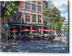 Oudoors Restaurant Vancouver Acrylic Print