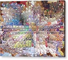 Our Abundant Planet Acrylic Print by Ann Johndro-Collins