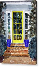 Our Adoooorable Neighbors Acrylic Print by Tim Ross