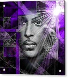 Our Beautiful Purple Prince Acrylic Print