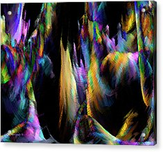 Our Colorful Planet Acrylic Print