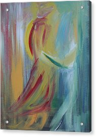 Our First Dance Acrylic Print by Julie Lueders