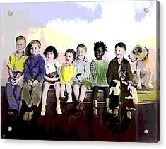 Our Gang  Acrylic Print by Charles Shoup