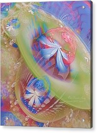 Our Hearts Sing  Acrylic Print by Gayle Odsather