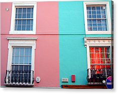 Our House Is A Very Very Very Fine House Acrylic Print by Jez C Self