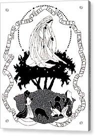 Our Lady Of Fatima - Dpolf Acrylic Print