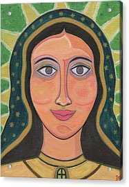 Our Lady Of Guadalupe Acrylic Print by Danielle Tayabas