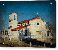 Our Lady Of La Salette Mission Paint Acrylic Print