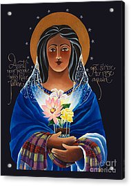 Our Lady Of Light - Help Of The Addicted - Mmlol Acrylic Print