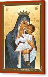 Our Lady Of Mount Carmel - Rlolc Acrylic Print