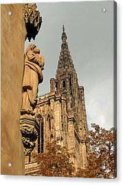 Our Lady Of Strasbourg Acrylic Print