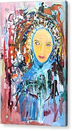 Our Lady Of The Left Eye Acrylic Print
