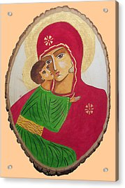 Our Lady Of Vladimir Acrylic Print