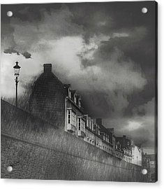 Our Lady Wall Maastricht Acrylic Print by Nop Briex