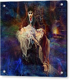 Acrylic Print featuring the painting Our Love Is Forever by Steve Roberts