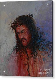 Our Precious Savior Acrylic Print by Michael Nowak