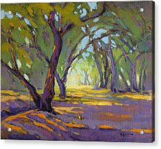 Acrylic Print featuring the painting Our Secret Place 4 by Konnie Kim