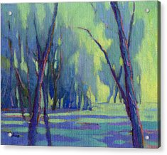 Acrylic Print featuring the painting Our Secret Place 7 by Konnie Kim